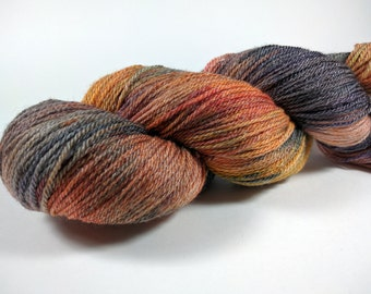 Super Silky Superwash Merino Tencel Sock Yarn - Pretty Things - Hand Dyed -  Luxurious - Hand Painted