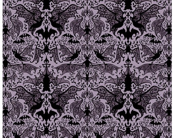 Victorian Bats - Blankets, Pillows, and Towels
