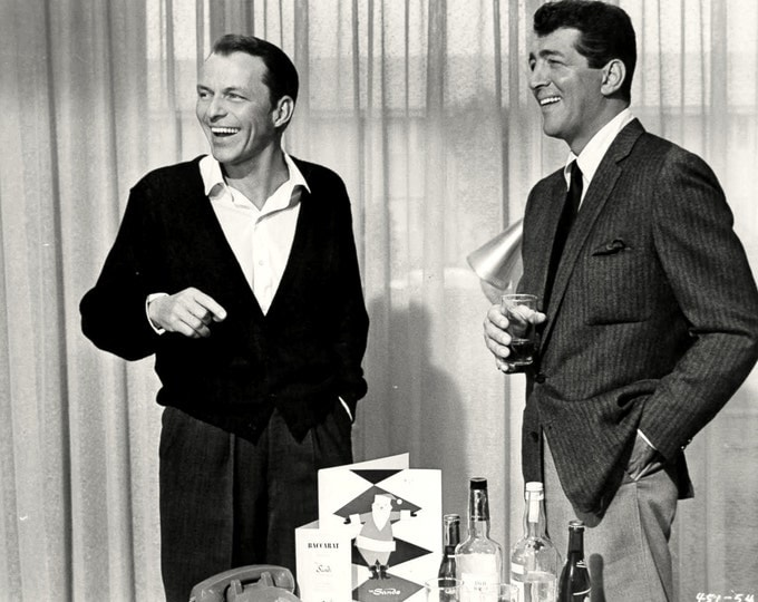 Rat Pack Alums Frank Sinatra and Dean Martin - 5X7 or 8X10 Photo (AA-791)