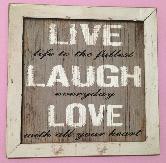 Wooden Wall Art Inspirational Quotes : Wood wall quote quotes decor inspirational