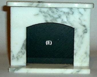 Miniature FIREPLACE MARBLE (E) - Made By: Joe Graber