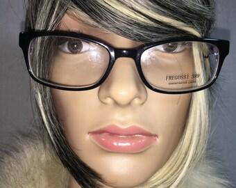 Fregossi Black & Violet Frames- Eyeglasses
