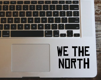 We the North- Toronto Raptors Logo -  vinyl decal sticker