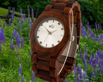 Wood Watch, Womens Watch, Gift for women, wood jewel, Gift for her, valentines day gift for girlfriend , Personnalized jewel , KO26