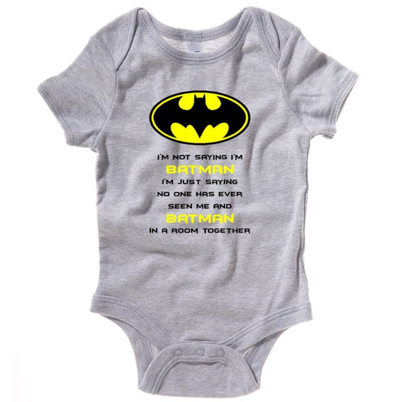 You searched for: batman baby onesie! Etsy is the home to thousands of handmade, vintage, and one-of-a-kind products and gifts related to your search. No matter what you're looking for or where you are in the world, our global marketplace of sellers can help you .