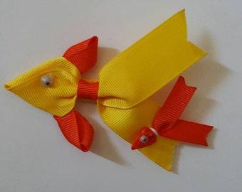 Animal hairbows, Ribbons Hair Bows, Fish Sculpture,