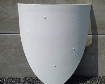 Medieval heater shield for re-enactment
