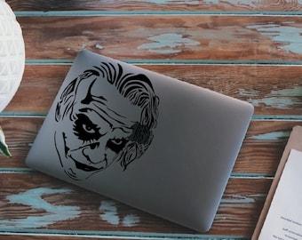 Joker decal, laptop sticker, wall sticker, car stickers
