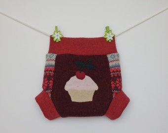Woolen baby soakers, diaper covers, Size L