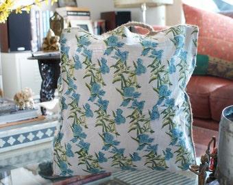 Hand Block Print Tote Bag