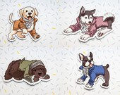 Hamilton Musical, Magnets, Hamilton, Hamilton Broadway, Cute Dogs, Hamilton Dogs, Hamilton Art, HamArt, Fan Art, Musicals, Cute Magnets