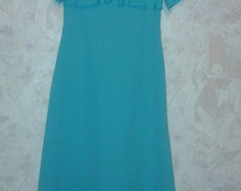 year 50 Turquoise dress