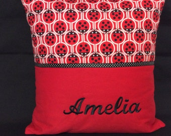Name Embroidered Cushions