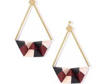 Earrings - Tokyo mon Amour - pink