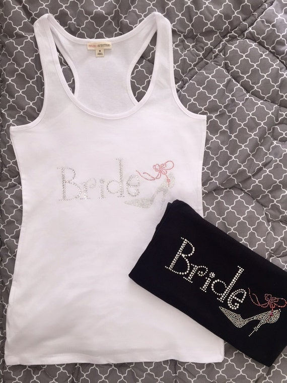 Wedding Gift Delivery Usa : ... BRIDE Junior Tank Top Shirt Wedding Gift S-L FREE Shipping USA