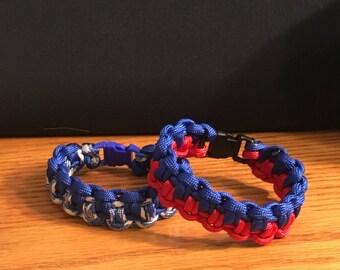 Duality Bar-Paracord Bracelet