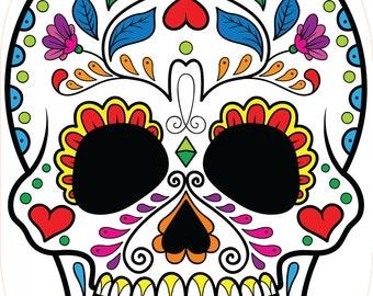 colorful skull 2