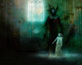 The Cathedral of Titan giclee print