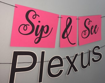 Plexus Banner| Sip and See | Plexus Event |Plexus Party