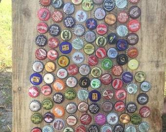 Alabama beer cap sign