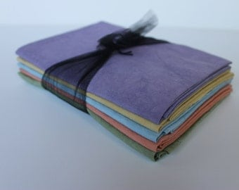 Hand Dyed Cotton Fat Quarter Collection