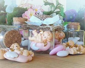 BAPTISM FAVOR BOX JAR