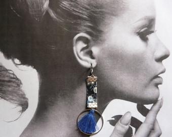 Earrings blue wiltshire