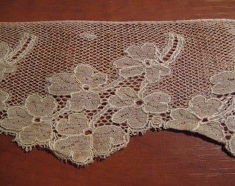 Beautiful antique French silk lace high 8 cm ... CA. 1920!