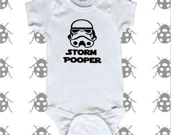 Storm Pooper Onesie. Star Wars