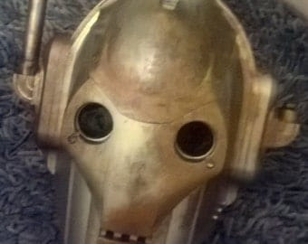 DOCTOR WHO damaged cyberman head prop
