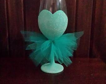 Bridesmaid Wine Glass, Bridesmaid Gift, Wedding Gift