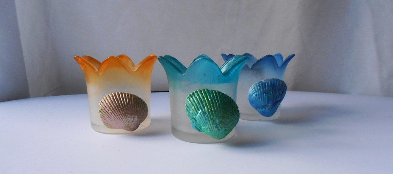 Seashell Candle Holder Shell Candle Holder Sea Shell Candle