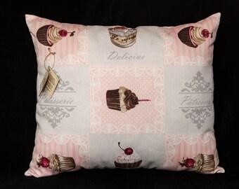 Decorative cushion Patisserie