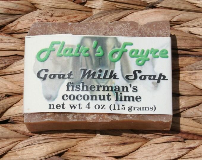 Fisherman's Coconut Lime Goat Milk Soap