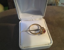 Very nice vintage 18kt HGE ring size 7