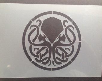 Cthulhu Mythos Symbol Stencil