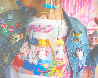 Cry baby Sailor Moon top
