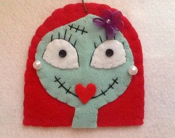 Christmas ornament, halloween, gothic, corpse bride