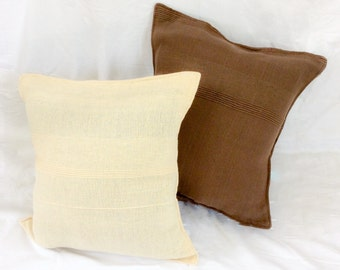 Simple Cotton Cushion Cover