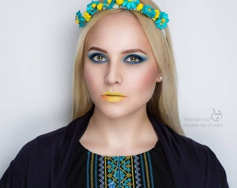 Ukrainian national headband