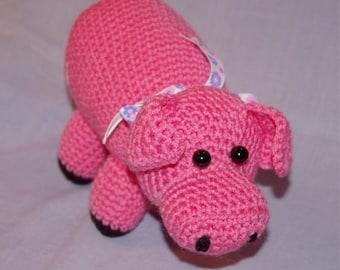 Pink stuffed Piggy toy