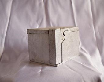 Silver Puzzle Box