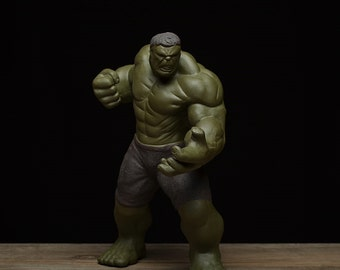 Handmade pottery teapet, the incredible Hulk