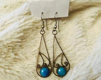 Sterling silver vtg earrings