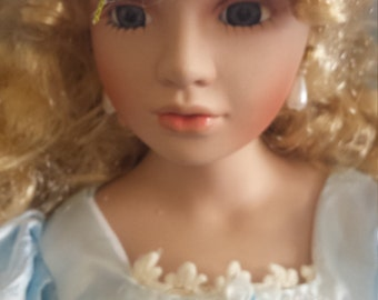 Vintage porcelain doll (10 dollars off!!)