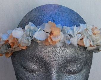 Flower crown with preserved flowers, Floral crown, Flower Girl, Bridesmaids flower crown, Wedding flower crown, Bride flower crown