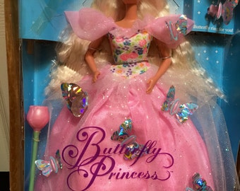 Barbie Doll 1994 collectibles-Butterfly Princess