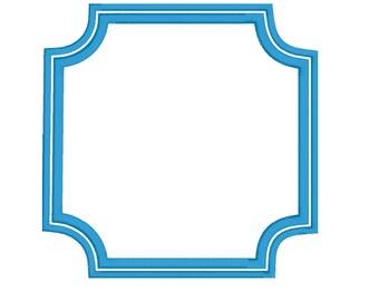 Ames Monogram Frame DST