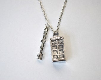 Doctor Who 3D Necklace