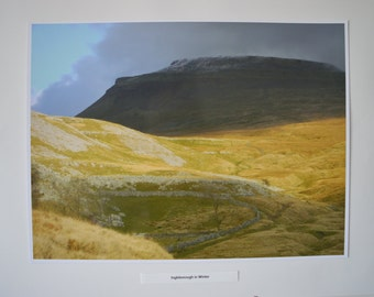 Ingleborough, Yorkshire Dales, Limited Edition Print Photograph, No4 of only 25